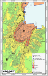 Subsoil class map of central Wellington (Semmens & Others 2011; Semmens & Others 2010)