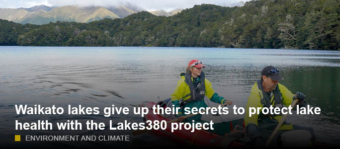 Waikato Lakes Sampled In National Lakes380 Research Project