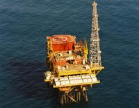Offshore platform. Image from GNS Science.