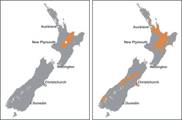Geothermally-active regions / Hot & Steamy NZ / Earth Energy ...