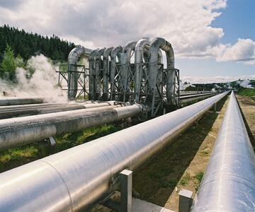 geothermal pipes