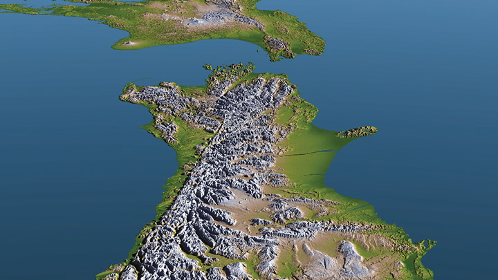 Alpine Fault graphic