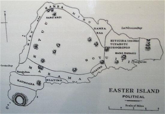 Easter Island Political Map Is Easter Island A Model Of Global