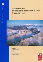 Geology of Southern Victoria Land cover