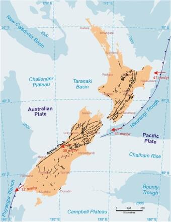 The Geology Of New Zealand Regional Geology Earth Science Our