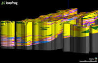 Geological model of subsurface central Christchurch derived from ground probe testing