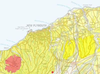 New Plymouth / Urban Geological Mapping / Regional Geology ...