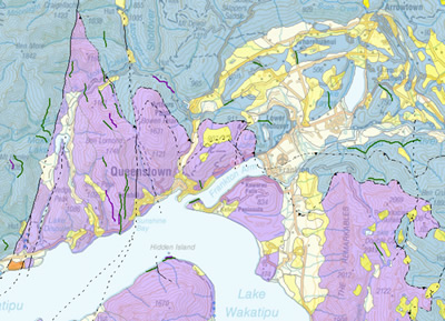 Queenstown Lakes / Urban Geological Mapping / Regional Geology ... on