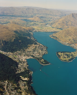 Map Of New Zealand Queenstown.Queenstown Lakes Urban Geological Mapping Regional Geology