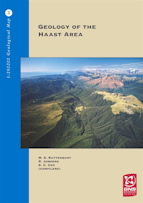 Geology of the Haast area cover