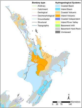 Map Of New Zealand North Island.Maps Database And Tools Groundwater Environment And Climate