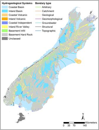 Map Of New Zealand And Surrounding Islands.Maps Database And Tools Groundwater Environment And Climate