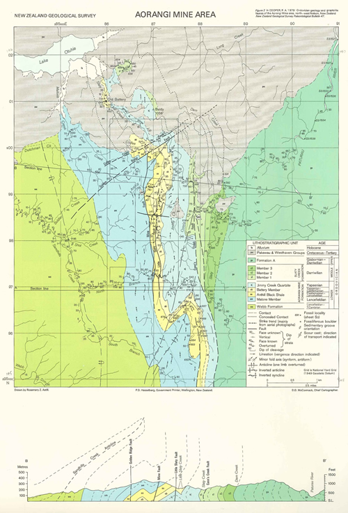 Map Nelson New Zealand.Legacy Geological Maps Geological Maps Regional Geology Land