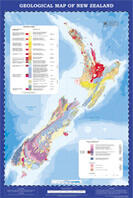 Geological map of NZ