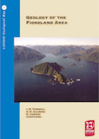 Geology of the Fiordland area cover