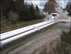Geothermal pipe