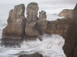 Coastal erosion rugged coasts landforms science topics coastal erosion punakaiki pancake rocks are a classic image julian thomson thecheapjerseys Image collections