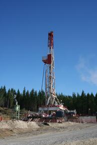 well rig geothermal